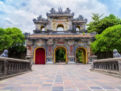 Main gate to Hue's Imperial Citadel