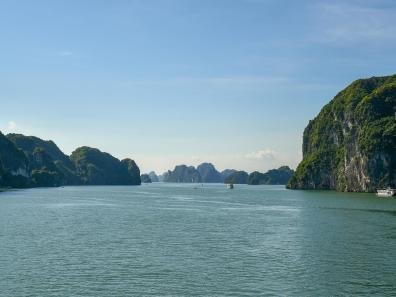 Halong Bay view - Grant Ekeland