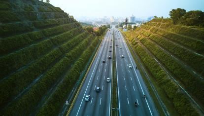 A highway in Malaysia